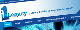 i1Legacy | Legacy Builder in every Muslim Mind.