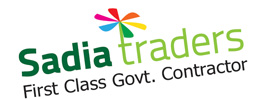 Logo Design of Sadia Traders.